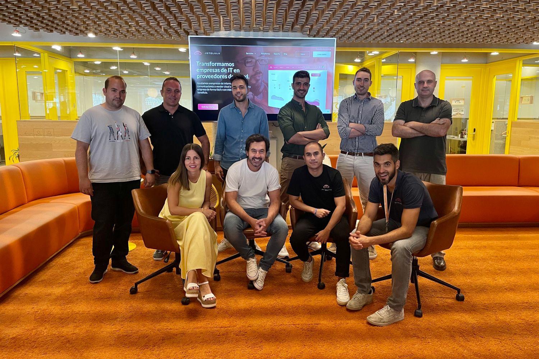 Imagen del equipo de Jotelulu.