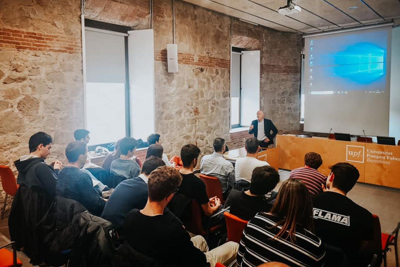 Imagen del curso Akademia de la Fundación Innovación Bankinter en Universitat Pompeu Fabra.