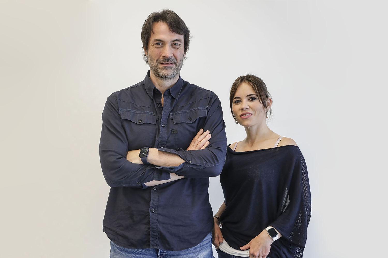 Manuel Fandos y Lidón Serra, fundadores de Tugesto.
