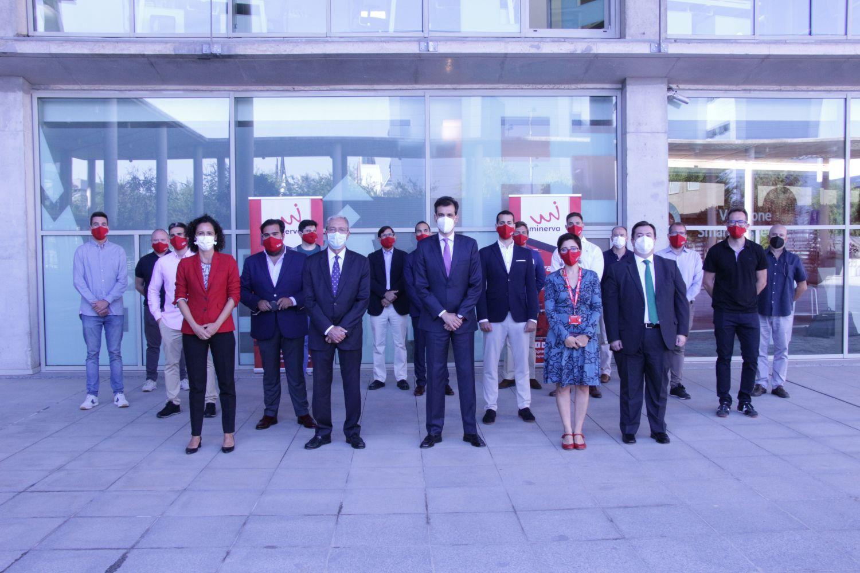 Imagen del equipo del Programa Minerva.