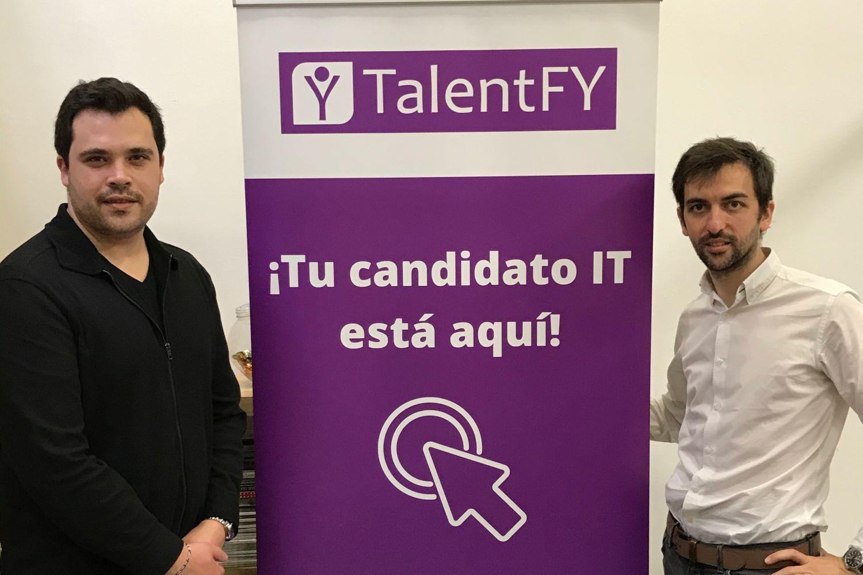 Imagen de los fundadores de TalentFY.