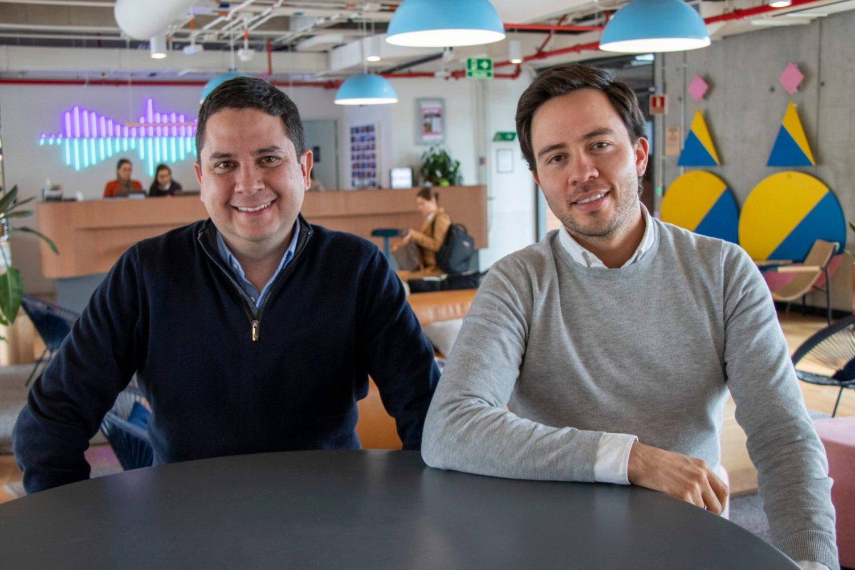 Felipe Llano y Esteban Velasco, cofundadores de Sempli.