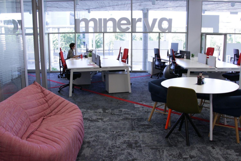 Imagen de las oficinas del Programa Minerva.