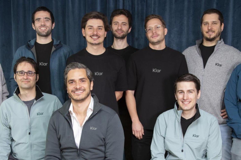 Foto de equipo de la startup mexicana Klar.