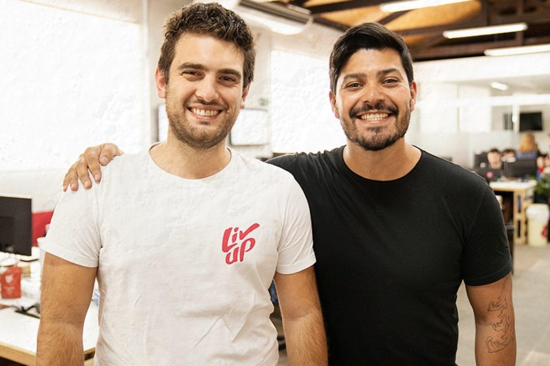 Fundadores de la startup brasileña Liv Up.