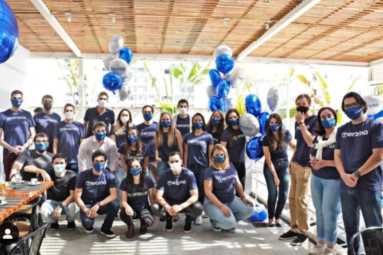 Foto de equipo de la startup Merama.