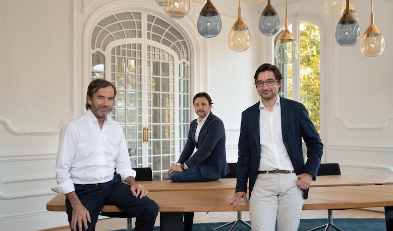 Imagen del equipo fundador del fondo Aldea Ventures