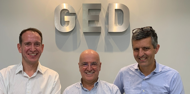 Imagen del equipo de GED Capital.