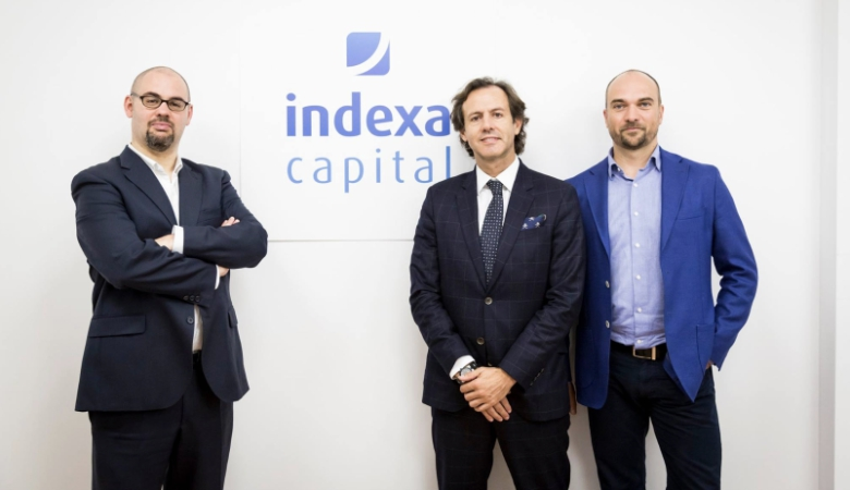 Unai, Ramon y François fundadores de Indexa Capital.