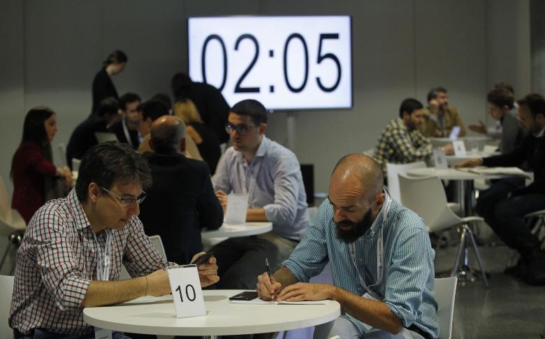 Conferencias, talleres, reuniones B2B fueron los protagonistas de esta edición que contó con más 60 startups presenciales en el Palacio Euskalduna