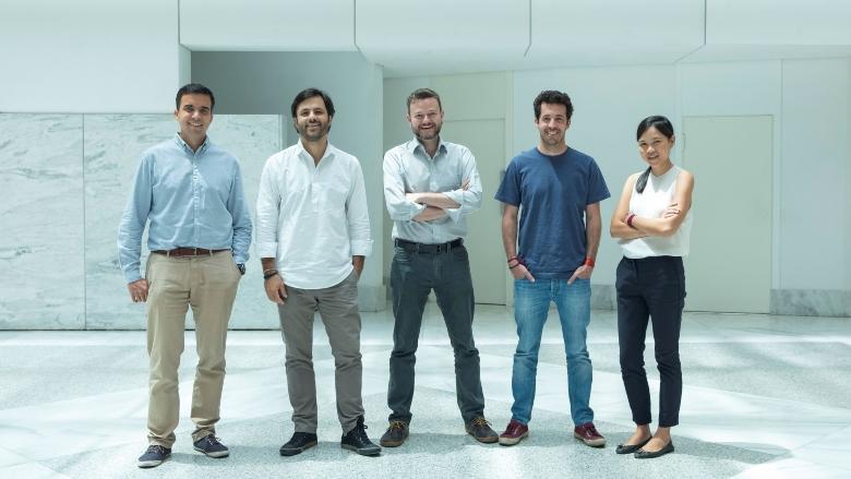 Imagen del equipo fundador de la startup Ontruck