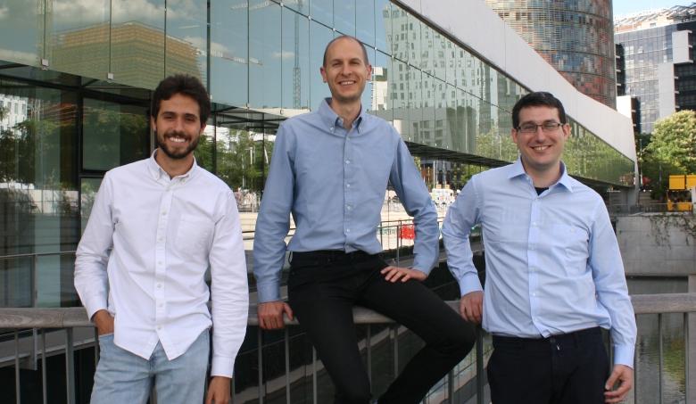 Marc Antoni y sus socios de la fintech Novicap
