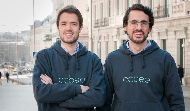 Fotografía de los fundadores de la startup Cobee.