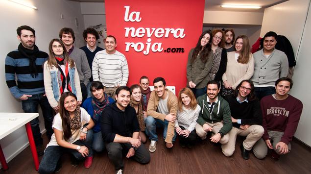 La Nevera Roja startup
