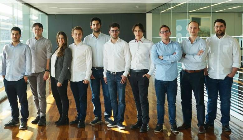 Equipo de la startup Zeleros, con sede en Valencia
